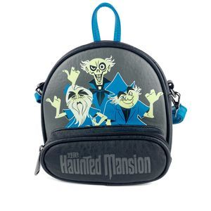 Hitchhiking Ghosts Haunted Mansion Crossbody Bag